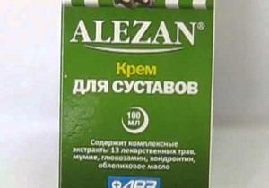 Изображение - Алезан крем для суставов инструкция 4-24