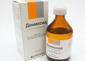 правила применения Димексида для лечения пяточной шпоры