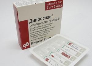 как применять Дипроспан при суставных патологиях