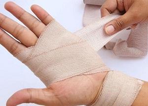 правила лечения растяжения связок кисти руки