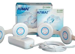 особенности аппарата Алмаг 1 для лечения суставов