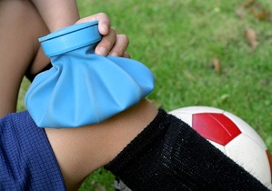 ушиб колена при падении лечение