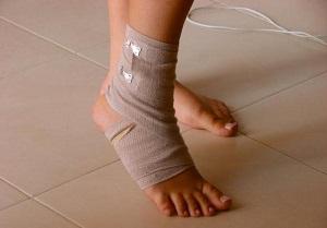 Вывих ноги в районе щиколотки: первая помощи и последующее лечение