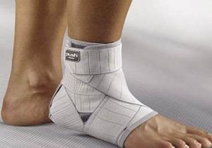 мазь при растяжении связок на ноге