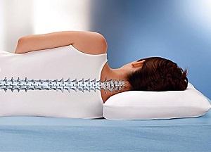 польза ортопедической подушки при шейном остеохондрозе