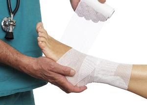 как лечить вывих голеностопного сустава