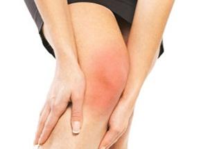 что делать, если опухло колено