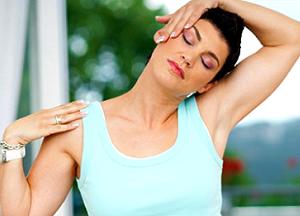 описание упражнений для шеи при остеохондрозе
