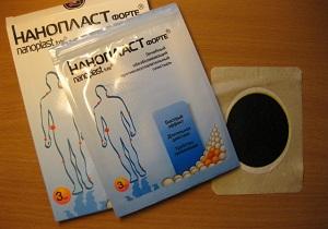 Лейкопластырь снаночастицами для лечения суставов диагностика и лечение локтевых суставов