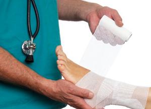 как лечить перелом лодыжки без смещения