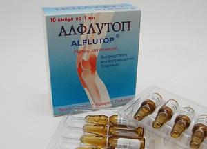 правила применения уколов Алфлутоп