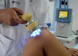 Лазерная терапия суставов световод в сустав хронический бурсит коленного сустава